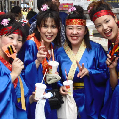 Japan, Tokyo celebration