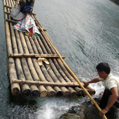 China, river raft