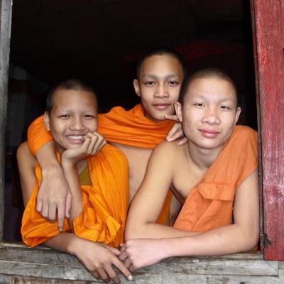 Laos, youthful monks