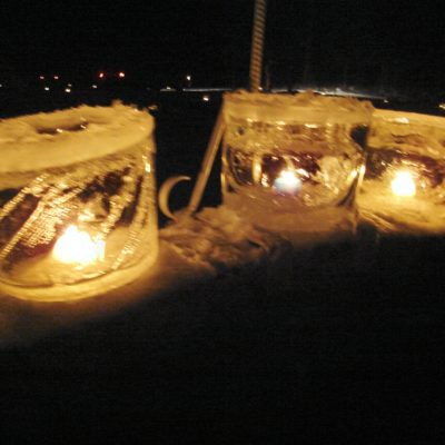 Embarrass, MN cemetery ice candles
