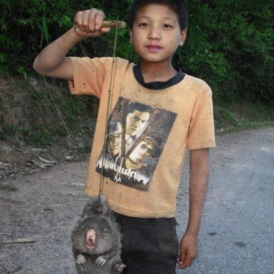 Laos Hitchhiker's Friend