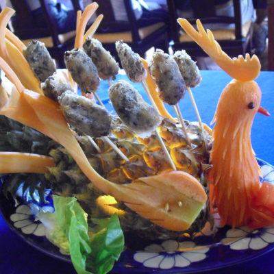 Vietnam, meal in Hue