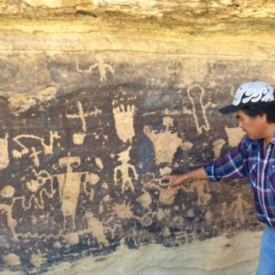 Ron Wadsworth on Hopi Reservation in Arizona