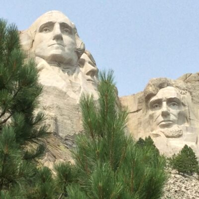 Incomplete view of Mt. Rushmore