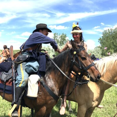 This time, Custer's Last Stand ends in handshake