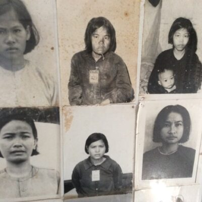 Pol Pot's Khymer Rouge captured tens of thousands