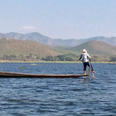 Fishing in Myanmar's Inle Lake