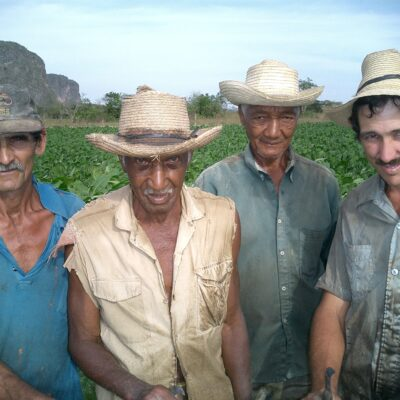 Cuban tobacco farmers