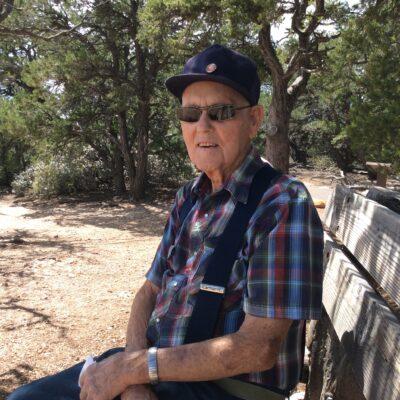 Cliff Spendlove (99) at Grand Canyon's North Rim
